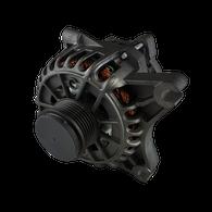 PROFLOW Ford BA 5.4L 135amp Alternator - Black 6 Rib Clutched