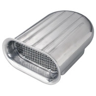 TLG Hilborn Style Intake Scoop - Single Carb FINNED