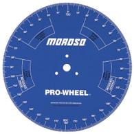 """MOROSO 18"""" Pro Camshaft Degree wheel"""