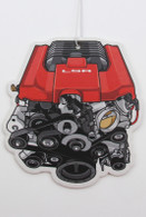 LSA Engine Air Freshener - Vanilla Scented