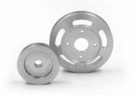 FRANKLIN ENG. Billet Underdrive Pulley Set for Nissan RB Engines - SILVER