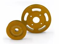 FRANKLIN ENG. Billet Underdrive Pulley Set for Nissan RB Engines - GOLD