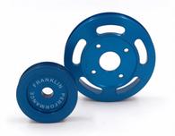 FRANKLIN ENG. Billet Underdrive Pulley Set for Nissan RB Engines - BLUE