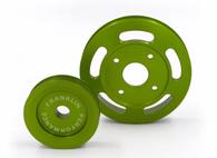 FRANKLIN ENG. Billet Underdrive Pulley Set for Nissan RB Engines - GREEN