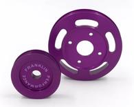 FRANKLIN ENG. Billet Underdrive Pulley Set for Nissan RB Engines - PURPLE