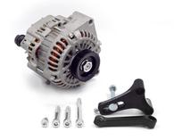 FRANKLIN ENG. LS Alternator Upgrade Kit for Nissan RB - BLACK