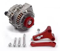 FRANKLIN ENG. LS Alternator Upgrade Kit for Nissan RB - RED