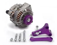 FRANKLIN ENG. LS Alternator Upgrade Kit for Nissan RB - PURPLE