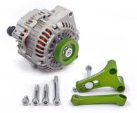 FRANKLIN ENG. LS Alternator Upgrade Kit for Nissan RB - GREEN