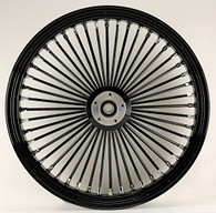 """ATTITUDE INC Blacked Out Max Spoke Wheel - Suits Harley - 19"""" x 3.5"""""""