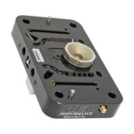 AED Billet Metering Block - Black
