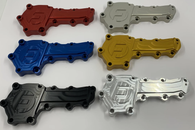 FRANKLIN ENG. Nissan RB Water Pump Blanking Plate - CLEAR ANODIZE