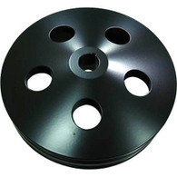 """PROFLOW Saginaw 5.80"""" OD Power Steering Pump Pulley - Black"""