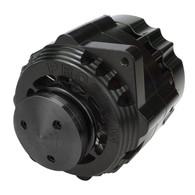 PROFLOW Alternator, 150 Amp Universal w/ 6-Rib and V-Belt Pulley - Black Billet
