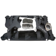 PROFLOW Air Dual Plane Intake Manifold - Holden V8 with Early Heads BLACK