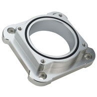 PROFLOW Ford Barra Adapter Plate Suit Factory Fly By Wire Throttle Body - SILVER