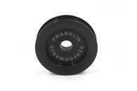 FRANKLIN ENG. Billet Underdrive Alternator Pulley  - Nissan RB Engines - BLACK
