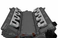 ICT GM Billet Intake Manifold Adaptors - GM LT1 Head to LS Rectangle Port Manifold