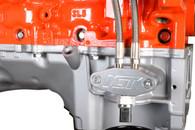 "ICT GM LT 1/8"" Dual Feed Oil Port Adaptor Plate w/ Oil Pressure Sensor Relo"