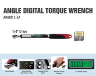 """ACDelco Tools Digital Torque Wrench - 1.11-22.12 ft.-lbs Range , 1/4"""" Drive"""