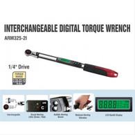 "ACDelco Tools Interchangable Digital Torque Wrench - 10-99.5 ft.-lbs Range , 1/4"" Drive"