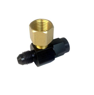 TLG Oil Feed Line Adaptor Fitting - Suits Aftermarket Braided line kits to Ford Territory
