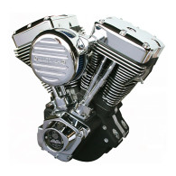 ULTIMA Complete Engine For Harley - 113Cube El Bruto 120HP Black Finish