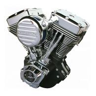 ULTIMA Complete Engine For Harley - 120Cube El Bruto 130HP Black Finish