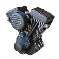 ULTIMA Complete Engine For Harley - 113Cube El Bruto 120HP Black-Out