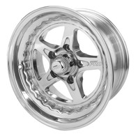 STREET PRO II Ford 5x114.3 - 15x8.5  / 3.50' Back Space Wheel POLISHED