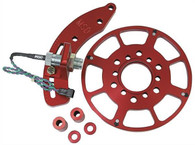 "MSD Flying Magnet Crank Trigger Kit - Small-Block Chev 6.25"" Balancer RED"