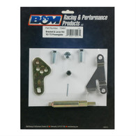 B&M Transmission Bracket and Lever Powerglide - Suit all B&M Shifters