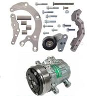 ICT GM LS2/LS3 Low Mount MINI A/C Compressor Kit - Suit VC, VB , VH, VK, VL, VN, VP, VR, VS, VG Commodore & Conversions