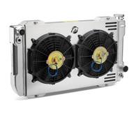 "PROFORM LS Conversion Universal Radiator Kit - 26"" Core w/ 2x Fans & Shroud"