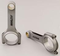 MANLEY 4340 Steel H-Beam Conrods - Honda B16A DOHC