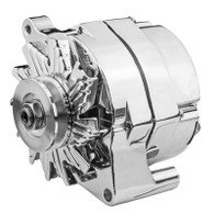 PROFLOW 100A Chrome Alternator FORD 1 Wire / External Regulator