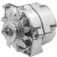 PROFLOW GM style Chrome 140A Alternator 1 Wire / Internal Regulator