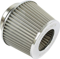 "PROFLOW 2.5"" Inlet Pod Filter 100mm High STAINLESS"
