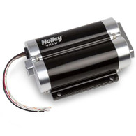 HOLLEY 130GPH Dominator In-Line Billet Fuel Pump Dual Inlet