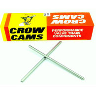 "CROW CAMS Superduty Pushrods (1 Piece 0.080'' Wall Heat Treated High Carbon Steel) 6.050''- 6.450"" Length"