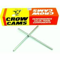 "CROW CAMS Superduty Pushrods (1 Piece 0.080'' Wall Heat Treated High Carbon Steel) 6.500''- 6.950"" Length"