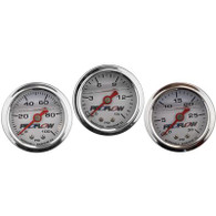 PROFLOW FPR Gauge 0-15PSI LIQUID FILLED