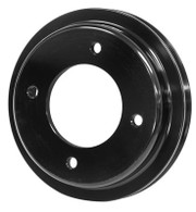PROFLOW Holden 253-308 Single Rib Crank Pulley - BLACK