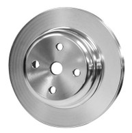 PROFLOW Holden 253-308 Water Pump Pulley - SILVER