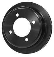 PROFLOW Ford 302-351 Windsor/Cleveland Crank Pulley - BLACK