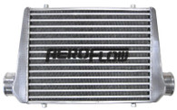 "AEROFLOW Aluminium Intercooler 450x300x76mm with 3"" Inlet/Outlets - Raw"
