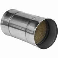 PROFLOW Polished Stainless 100 Cell Catalytic Converter - 4""