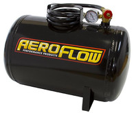 AEROFLOW 5 Gallon Steel Portable Air Tank - Black (125 PSI Max)