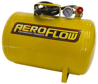 AEROFLOW 5 Gallon Steel Portable Air Tank - Yellow (125 PSI Max)