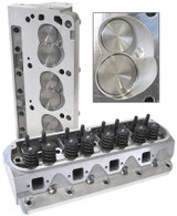 AEROFLOW Aluminium Cylinder Heads, 175cc Runner with 60cc Chamber COMPLETE - Suit Ford 289-302W